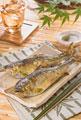 タイトル:鮎の塩焼き