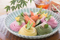 タイトル:三色素麺