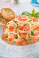 タイトル:トマト冷製パスタ