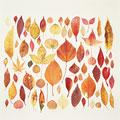 タイトル:紅葉の葉