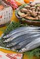 タイトル:秋刀魚と松茸
