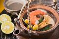 タイトル:松茸の土瓶蒸し