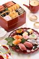 タイトル:おせちと寿司
