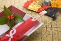 タイトル:祝い箸と扇子