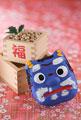 タイトル:福豆と鬼のお面