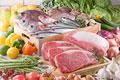タイトル:生鮮食品集合イメージ