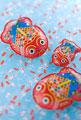 タイトル:金魚のブリキ玩具