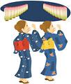 タイトル:盆踊り-8月