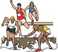 タイトル:陸上競技 3000メートル障害