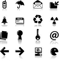 web icon reflect