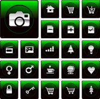 mac style icon green