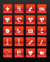 medical red n