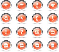 crystal communication icons