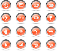 crystal communication icons