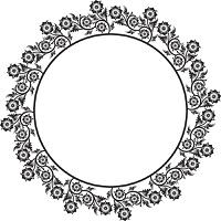 Decorative frame, vector illustration