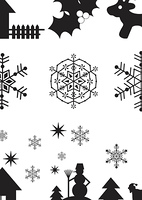 Christmas elements for design, vector