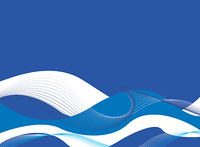 cool christmas abstract background in blue and white with flowing lines