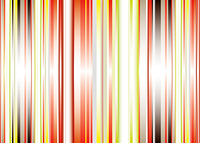 Abstract stripe background with gradient effect in green and red