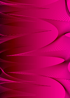 Modern abstract background in magenta with a flowing spiral wave