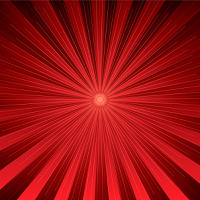 Modern radiating design in red and black ideal as a background