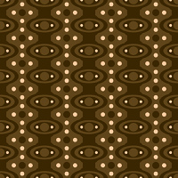 Abstract sixties style wallpaper design with a seamless repeat design