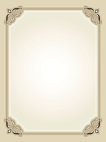 Vintage style ornate border