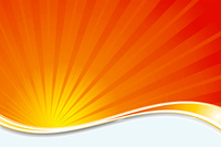 Abstract background with a sunburst effect
