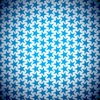 Abstract blue star seamless background with old grunge effect