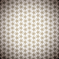 Seventies inspired brown retro background design with seamless pattern