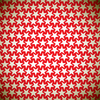 Seamless star red background pattern with gold elements