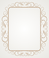Vintage Frame or Border Design. Vector
