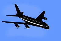 Realistic illustration aircraft - vector
