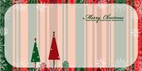christmas greeting card vector illustration