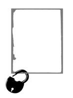 decorative frame on white background, vector illustration