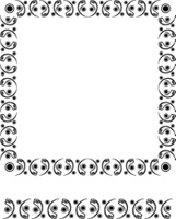 Design abstract frame for your design