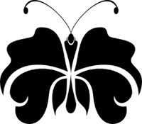 Beaytiful Butterfly tattoo symbol for you