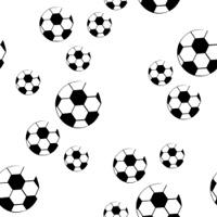 Design football seamless pattern