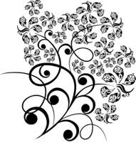 Design floral tattoo
