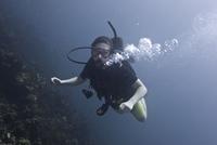 Underwater photography, scuba diver