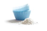 Baking powder isolated on a white background