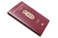 A modern Danish passport
