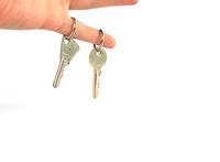 keys on finger