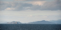 Panoramic view of the East China Sea