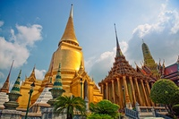Famouse  Bangkok   Temple - 'Wat Pho'  photo