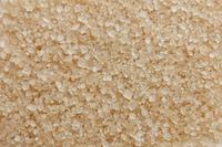 A close up of cane sugar