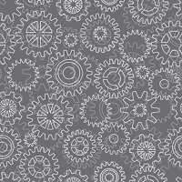 Abstract cogs background