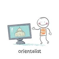 Orientalist talks about East