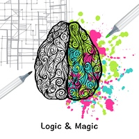 Hand drawn human brain with left logic and right creative hemispheres vector illustration. Left And Right Brain