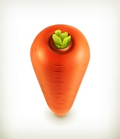 Carrots, vector icon