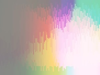 vector rhythmic colorful rectangle tiles, gradient effect